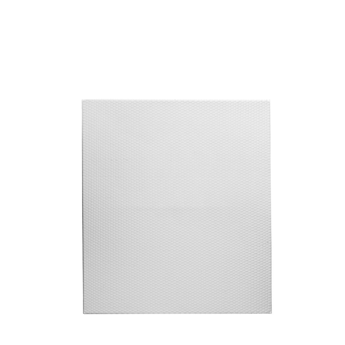 Polyrattan Zaun Element 80 x 90 cm, weiß, Alu Rahmen, wetterfest ...