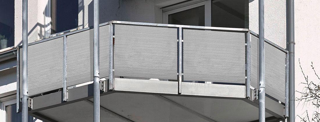 Polyrattan Sichtschutz für Balkon / Zaun 5 x 0,75 m